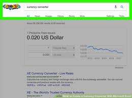 Currency Converter How To Create A Currency Converter With Microsoft Excel