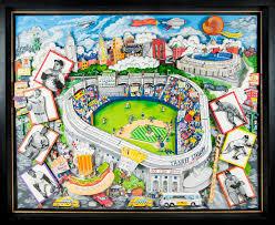 Yankee Stadium Map Lot Detail Yankee Stadium 5 U0027x4 U0027 3d Original Artwork By Artist