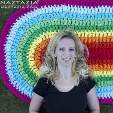 Easy Crochet Oval Rug Pattern Ravelry Oval Rag Rug Pattern By Naztazia