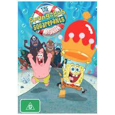 spongebob squarepants the movie dvd big w