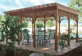 28 pergola kits wood how to build a freestanding wooden