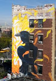 Mural Project by The Audubon Mural Project Attracts 314 Endangered Birds To The