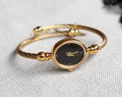 ladies bangle bracelet watches images Watch bracelet etsy jpg