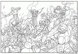 coloring page raging hulk