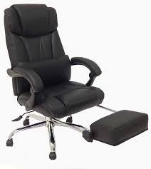 Recliner Computer Chair Reclining Office Chair W Footrest