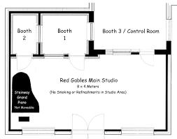 recording studio floor plan recording studio at red gables floor plan