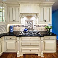 best white kitchen idea with victorian look for classy design