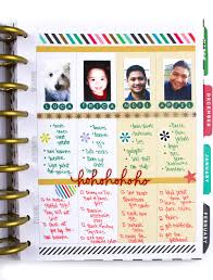 the christmas wish list the happy planner weekly layout christmas wish list me my