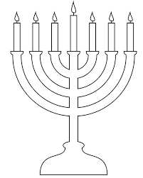 menorah 7 candles hanukkah coloring pages menorahs menorah hanukkah and hannukah
