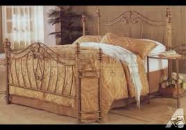Antique Style Bed Frame Antique Style Iron Bed With Wrap Around Corners New