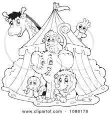 free to print circus border clipart circus tent illustration