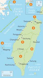 Interactive Map Of Asia by Map Of Taiwan Taiwan Regions Rough Guides