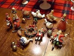 Jim Shore Christmas Ornaments 12 Days 12 days ornaments collection on ebay