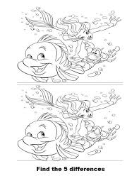 coloring pages spot spot the difference coloring pages and print for free