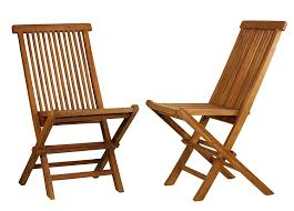Teak Patio Chairs Bare Decor Golden Teak Wood Outdoor Folding