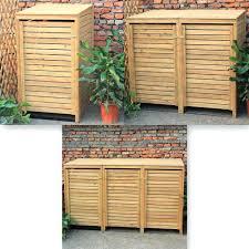 Trash Can Storage Cabinet Storage Bins Trash Storage Cabinet Outdoor Unit Garbage Can
