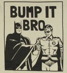 bump it batman robin bump it bro t shirt stylinonline