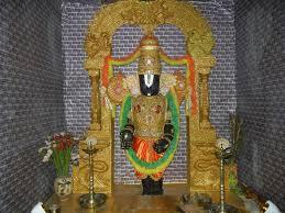 Home Ganpati Decoration Annaparabrahma Tirupati Balaji By Pramod And Charu