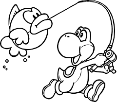 yoshi s free coloring pages on art coloring pages