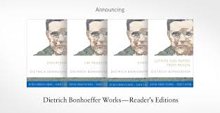 dietrich bonhoeffer works series fortress press