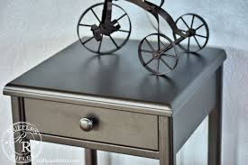 industrial nightstand and a tricycle lamp