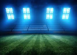 how tall are football stadium lights football stadium lights stock image image of field effect 40027047
