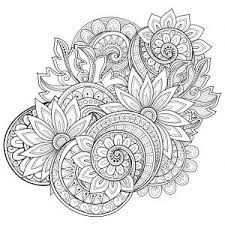 Flowers Advanced Coloring Pages 20 Kid Check Adult Coloring And Mandala Flowers Coloring Pages