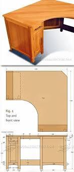 Corner Desk Plan Computer Desk Plans Woodwork Plans See More About Corner Computer