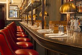 The Gin Bar At Holborn Dining Room Near Covent Garden In London - Dining room bar
