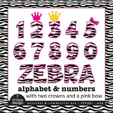 number clipart zebra print pencil and in color number clipart