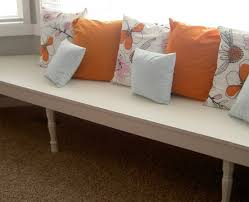 Upholstered Kitchen Bench With Back Bench Contemporary Intriguing Upholstered Bench Seating With