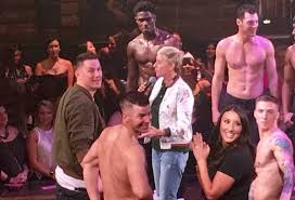 magic mike xxl double toasted channing tatum ellen degeneres fire up magic mike live las