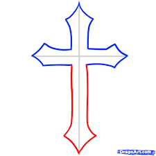 how to draw a cross cross by stuff pop culture free