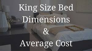 Queen Size Bed Length King Size Bed Dimensions Average Cost And Buyer Guide