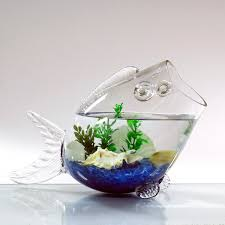9 inch glass fish shaped bowl vase set of 2 vase market