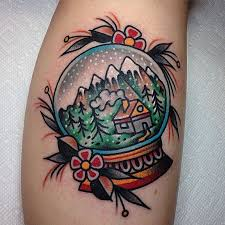 stunning snow globe tattoos tattoo com
