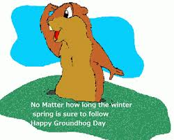 happy groundhog motivational wishes quotes happy groundhog