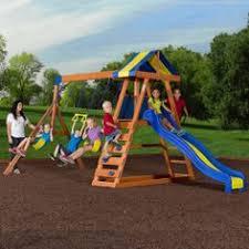 Flexible Flyer Backyard Swingin Fun Metal Swing Set Cortland Ii Gym Set By Flexible Flyer Toy R Us Sale 198 Compare