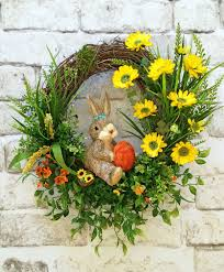 awesome looking flowers awesome front door easter decoration introduce brilliant small