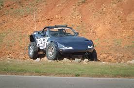 baja car lifted mazda miata is the awesome baja sportscar autoevolution