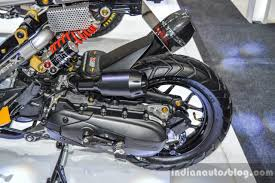 bentley zoomer honda zoomer x by kd shop dual purpose tyre at 2016 bims indian