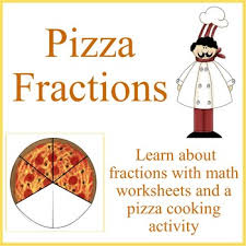 fractions math pizza fractions math worksheets and cooking activity by debbie madson