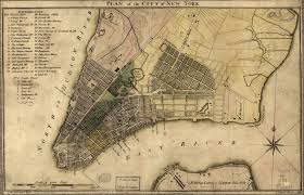 Old Map New York City by New York City Cool Old Photos