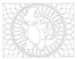 004 charmander pokemon coloring page windingpathsart com