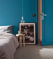 la chambre blue peinture chambre en couleurs côté maison