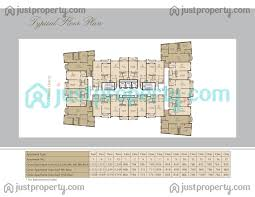 riviera residence floor plans justproperty com