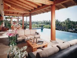 lanai porch residential timber home meldman hale timber home hamill creek
