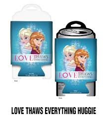 huggie drink walt disney frozen thaws everything huggie drink can