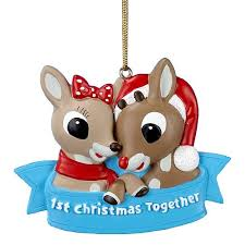 rudolph the nosed reindeer 1st ornament kurt s