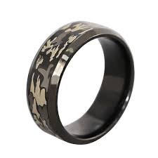 Mens Hunting Wedding Rings by Wedding Rings Ideas Green Patterned Bold Men Camo Wedding Rings